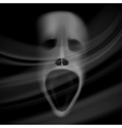 ghost face vector image