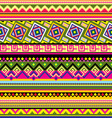 Latin American pattern vector image