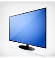 Plasma TV vector image