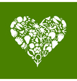 Heart of an animal vector image vector image