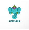 India - Ganesha Indian icon vector image vector image