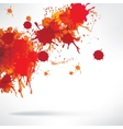 Abstract background with splash vector image
