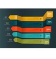 Minimal infographics modern charts and graphs vector image