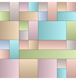 Pastel Squares vector image