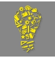 Designer tools idea concept vector image
