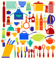 kitchen and restaurant vector image