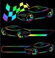 Auto symbol vector image
