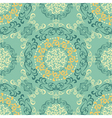 retro seamless pattern vector image vector image