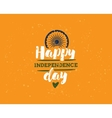India Independence day 15th august vector image