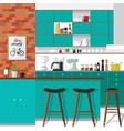 remodel your kitchen vector image