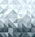 Silver metal elegant geometry seamless pattern vector image
