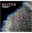 gdb glitch television noise background vector image