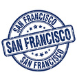 San Francisco stamp vector image