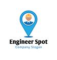 Spot Design vector image