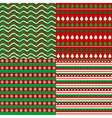 Set of Christmas backgrounds vector image vector image