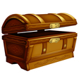 ancient chest vector image