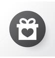 gift icon symbol premium quality isolated present vector image