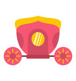 brougham icon isolated vector image