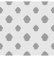 Abstract gray and white seamless cupcake vector image vector image