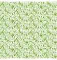 greenery spotted canvas seamless pattern vector image