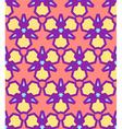 pink yellow purple blue abstract geometric vector image