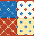 navy and nautical seamless pattern theme set 1 vector image
