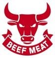 beef meat vector image