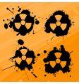 nuclear slpats vector image