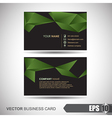Business Card 002 vector image