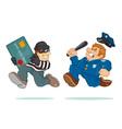 Credit Card Thief vector image