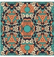 Seamless wallpaper pattern red vector image