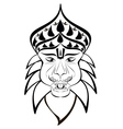 nrisimha outline vector image vector image