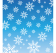 snowflake wallpaper vector image