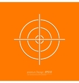 Stock Linear icon target vector image