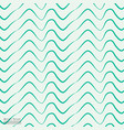wave pattern with hand drawn vector image