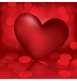 heart valentine card vector image