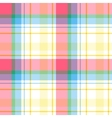 Madras pattern vector image vector image