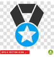 Champion Medal Eps Icon vector image