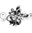 floral design element vector image