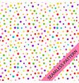 pattern with festive multi-colored confetti vector image