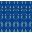 Rhombus chaotic seamless pattern 6308 vector image