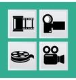 Video design vector image