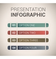 Modern soft color Design template infographics vector image