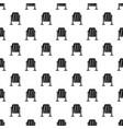 metal dust bin pattern vector image