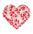 Happy valentines greeting card vector image