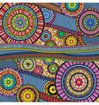 zentangle colourful vector image