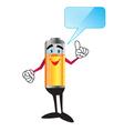 energy man vector image