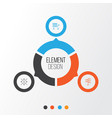 project icons set collection of opportunity vector image