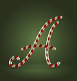 Candy cane abc a vector
