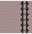 Lacy retro background vector image